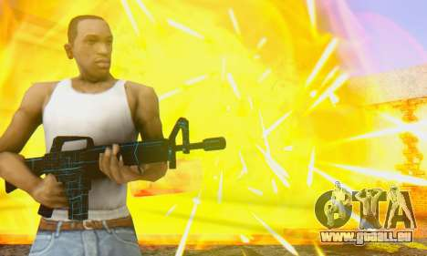 Abstract M16 pour GTA San Andreas