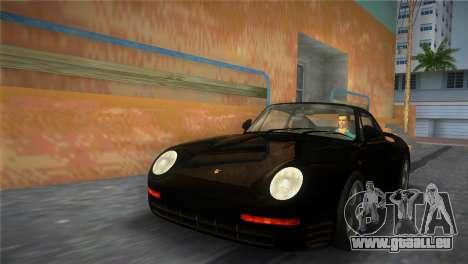 Porsche 959 1986 für GTA Vice City