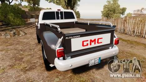 GMC 454 Pick-Up pour GTA 4 Vue arrière de la gauche