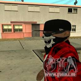 Selfie Mod für GTA San Andreas her Screenshot