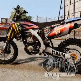 Yamaha YZF-450 v1.13 pour GTA 4 est une gauche