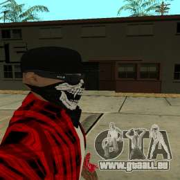 Selfie Mod pour GTA San Andreas troisième écran
