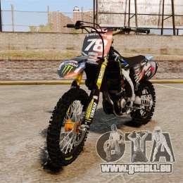 Yamaha YZF-450 v1.13 pour GTA 4