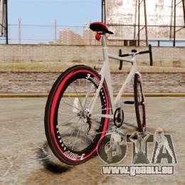 GTA V Endurex Race Bike für GTA 4 hinten links Ansicht