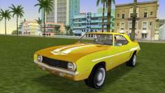 Chevrolet Camaro Cab 1969 für GTA Vice City