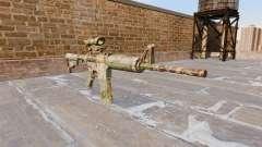 Automatic carbine ABER Guerilla-Camo