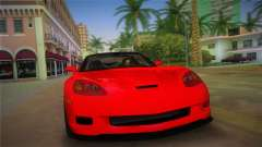 Chevrolet Corvette 2010 pour GTA Vice City