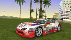 Toyota Supra RZ JZA80 Super GT Type 6 pour GTA Vice City