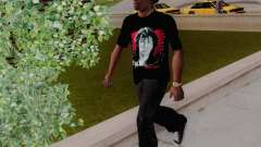 T-shirt c Viktor Tsoi für GTA San Andreas