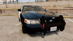 Ford Crown Victoria Sheriff [ELS] Slicktop pour GTA 4