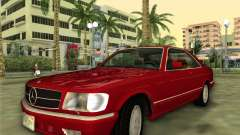 Mercedes-Benz 560SEC (W126) 1987 für GTA Vice City