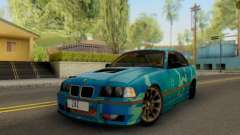 BMW M3 E36 Coupe Blue Star pour GTA San Andreas
