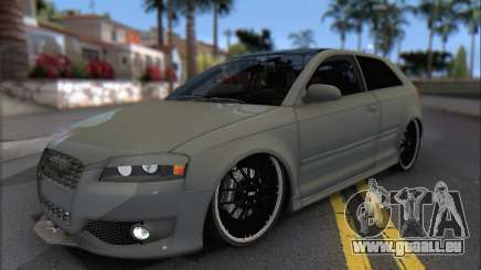 Audi S3 2006 Custom pour GTA San Andreas