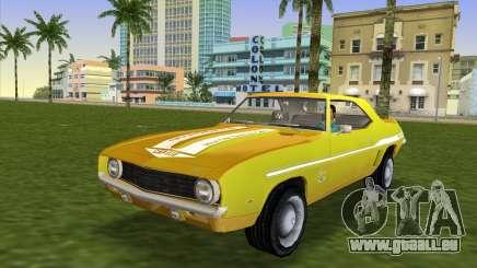 Chevrolet Camaro Cab 1969 für GTA Vice City