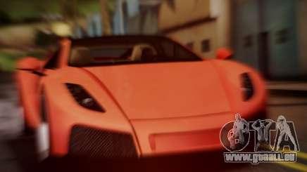 Spano Black für GTA San Andreas