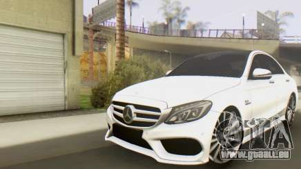 Mercedes-Benz C250 AMG pour GTA San Andreas