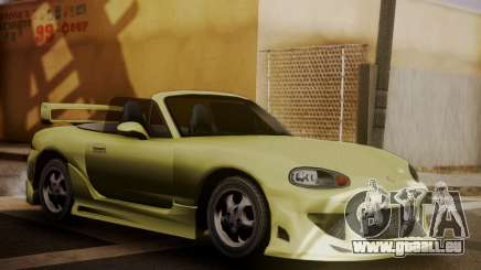Mazda MX5 DUB pour GTA San Andreas