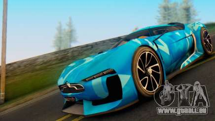 Citroen GT Blue Star für GTA San Andreas