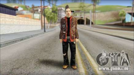 Biker from Avenged Sevenfold 3 pour GTA San Andreas