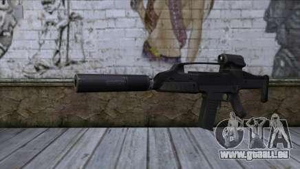 XM8 Compact Black für GTA San Andreas