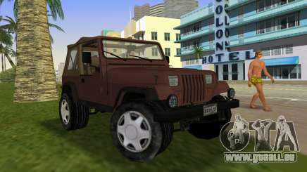 Jeep Wrangler pour GTA Vice City