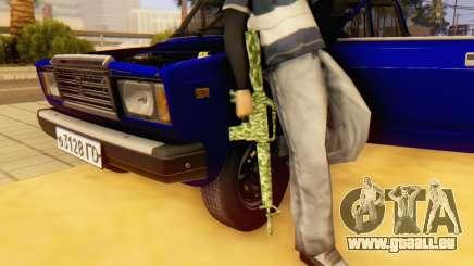 Camo M16 für GTA San Andreas