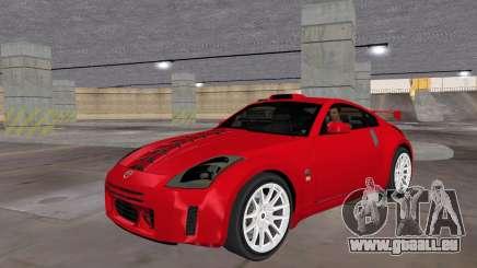 Nissan 350z Tuned für GTA Vice City