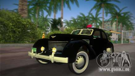 Cord 812 Charged Beverly Sedan 1937 pour GTA Vice City
