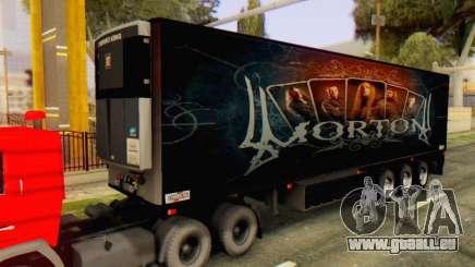Remorque Chereau Morton Bande 2014 pour GTA San Andreas