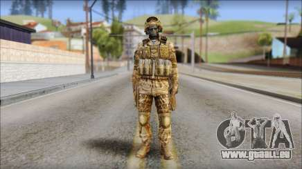 Desert GRU from Soldier Front 2 pour GTA San Andreas
