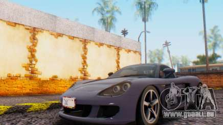 Porsche Carrera GT 2005 für GTA San Andreas