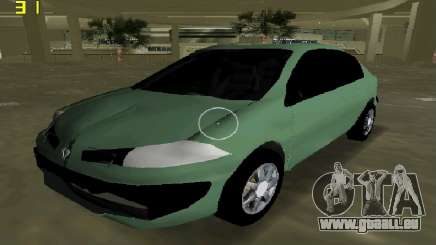 Renault Megane Sedan 2001 pour GTA Vice City
