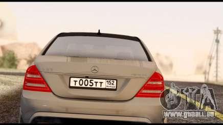 Mercedes-Benz S65 AMG pour GTA San Andreas