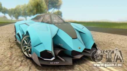 Lamborghini Egoista Concept 2013 pour GTA San Andreas