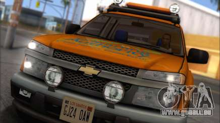 Chevrolet Colorado Cleaning pour GTA San Andreas