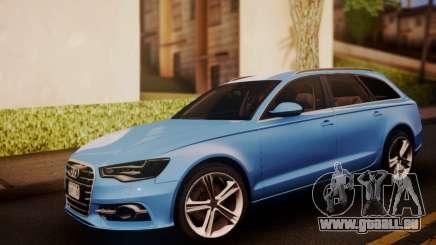 Audi S6 Avant 2014 für GTA San Andreas