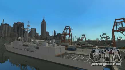 U.S. Navy frigate für GTA 4