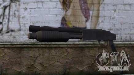 Sawnoff Shotgun from GTA 5 für GTA San Andreas