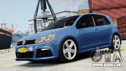 Volkswagen Golf R 2010 pour GTA 4