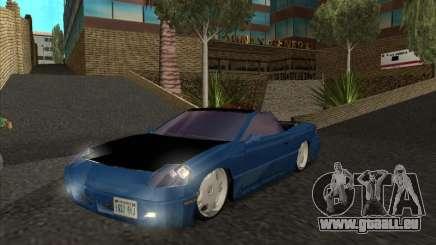 Alpha HD Cabrio für GTA San Andreas