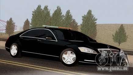 Mercedes-Benz S600 W221 2012 pour GTA San Andreas