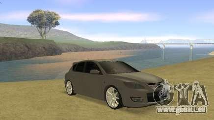 Mazda 3 v2 für GTA San Andreas
