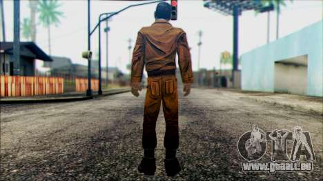 Danny from The Walking Dead: 400 Days pour GTA San Andreas deuxième écran