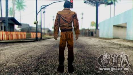 Danny from The Walking Dead: 400 Days für GTA San Andreas zweiten Screenshot