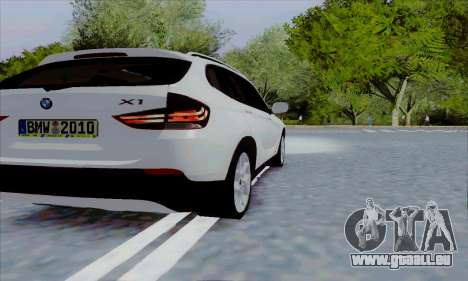 Bmw X1 pour GTA San Andreas vue de droite