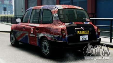 London Taxi Cab v2 pour GTA 4 est une gauche