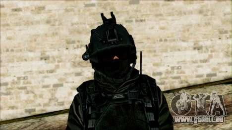 Soldaten airborne (CoD: MW2) v1 für GTA San Andreas dritten Screenshot