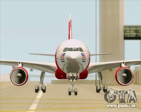 Airbus A330-300 Air Asia X für GTA San Andreas Seitenansicht