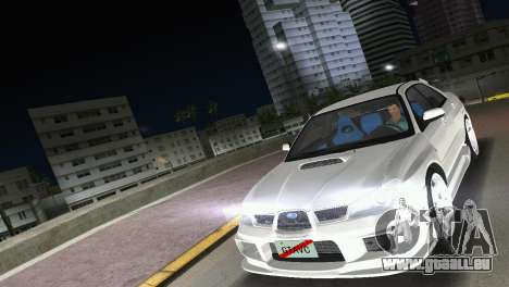 Subaru Impreza WRX STI 2006 Type 3 pour GTA Vice City