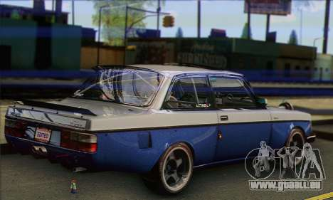 Volvo 242 V6 Twin Turbo 1983 - Stock für GTA San Andreas linke Ansicht